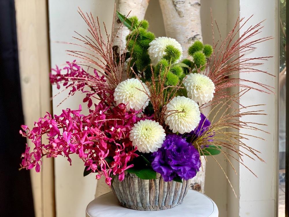 日本酒専門店の開店祝い花