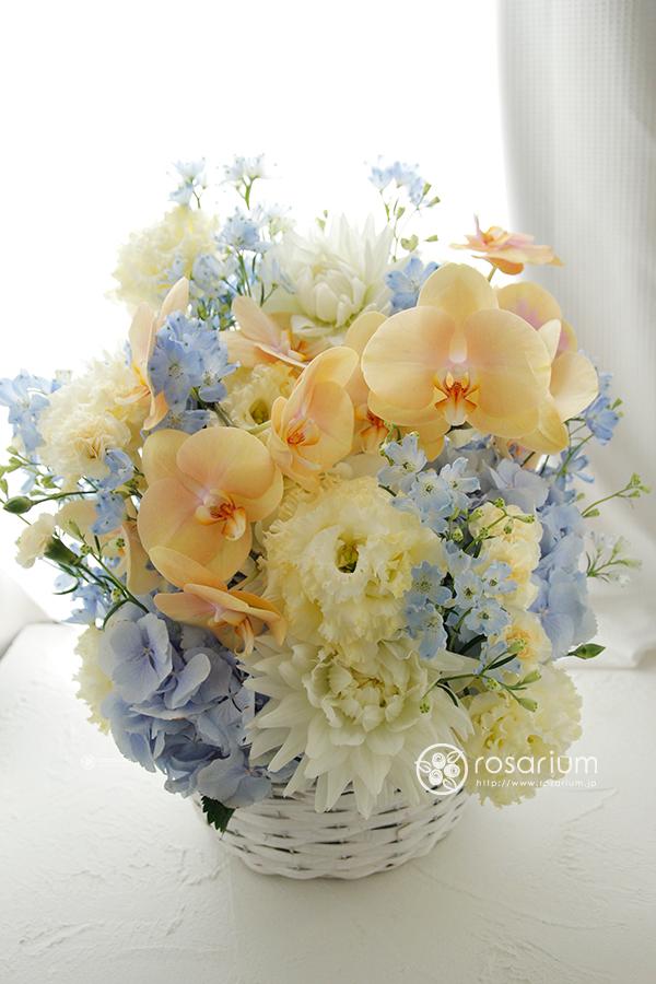 優しくて上品なご就任祝い花