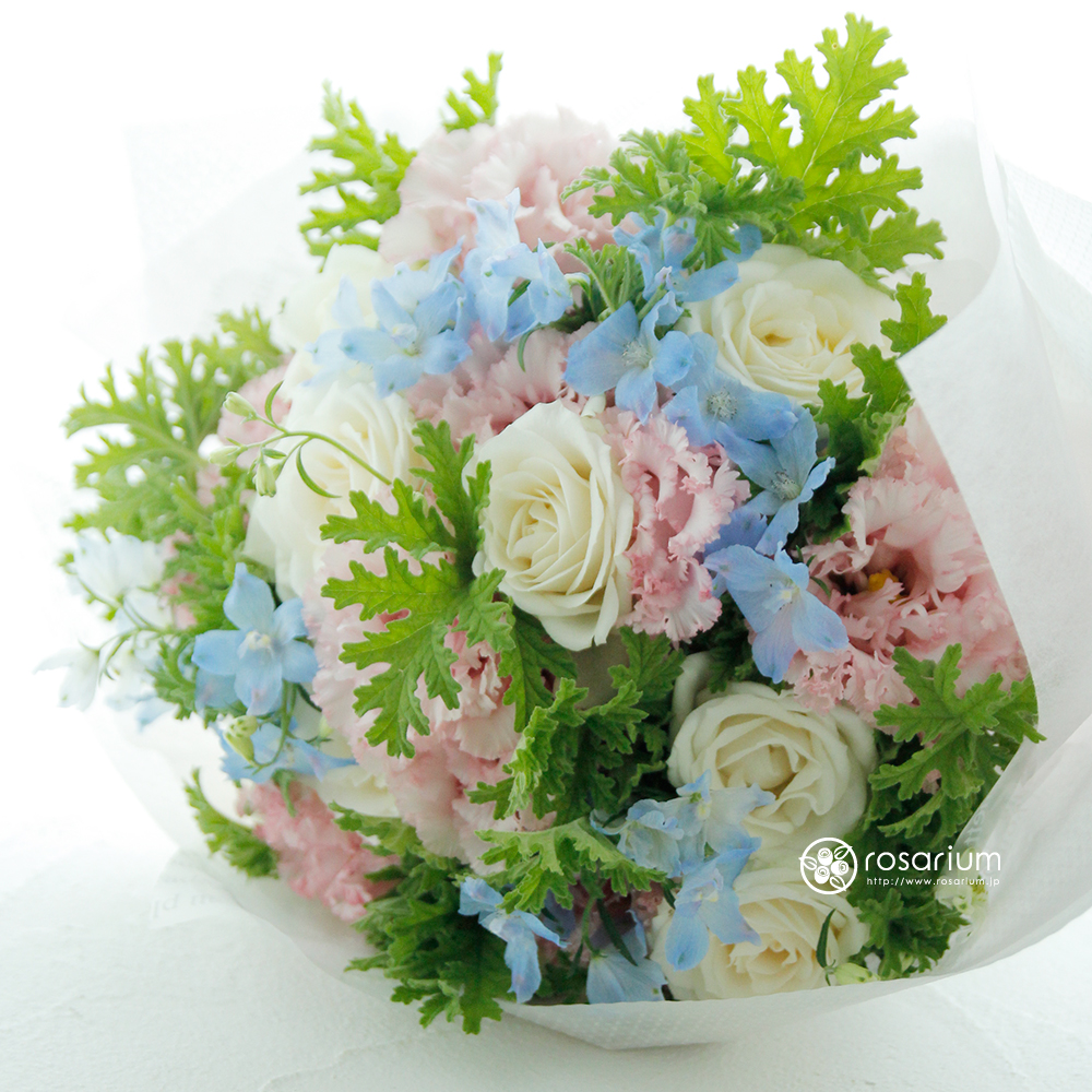 笑顔が素敵な奥様に贈られた花