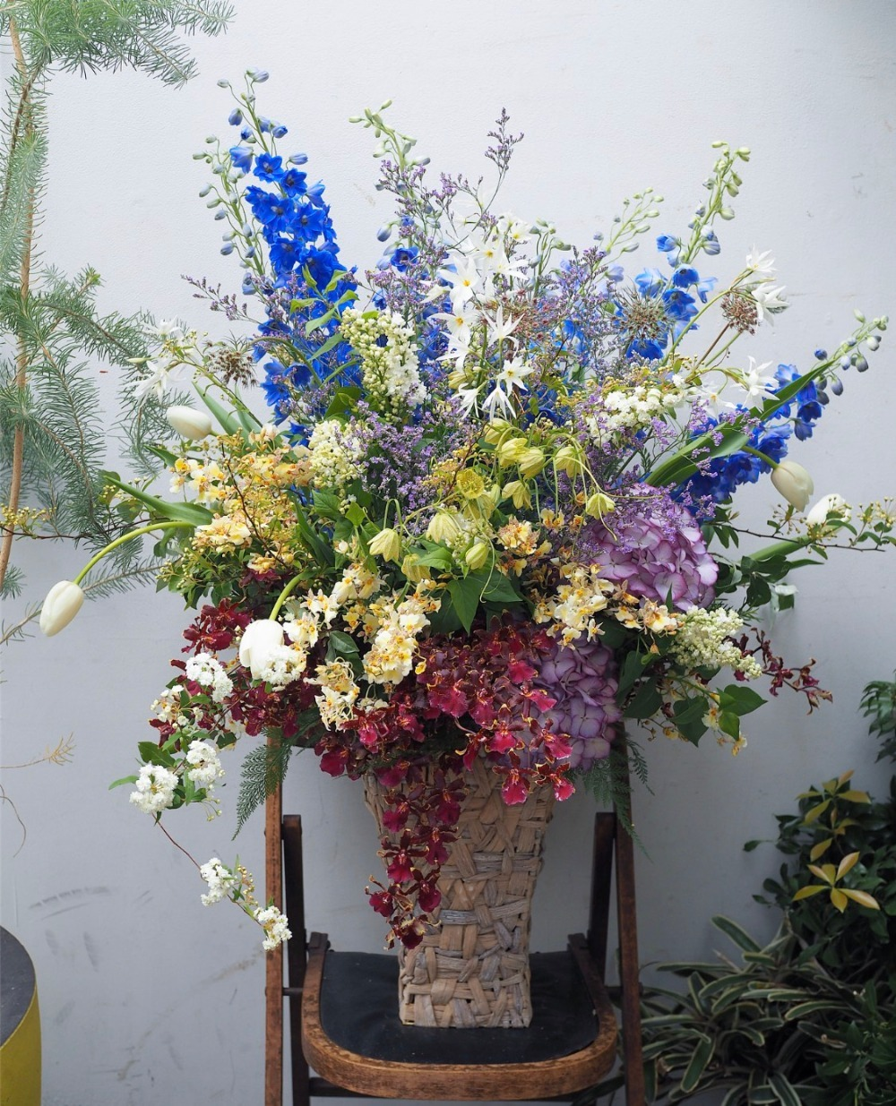 美しいものが何よりもお好きな方へ贈る誕生日祝い花