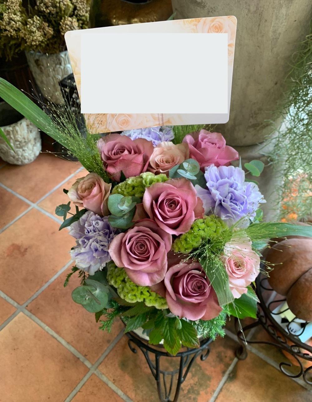 ご開業祝いの上品な祝い花