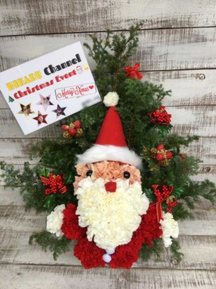 恵比寿ザガーデンホール 公演 [ヒカルチャンネルクリスマスイベント] ヒカルチャンネル様 ご出演祝い花・楽屋花