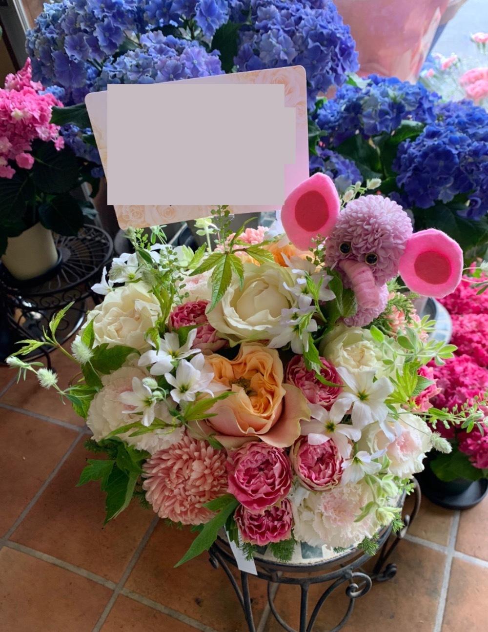 「友達の新しい門出を応援したい」ご開業祝い花