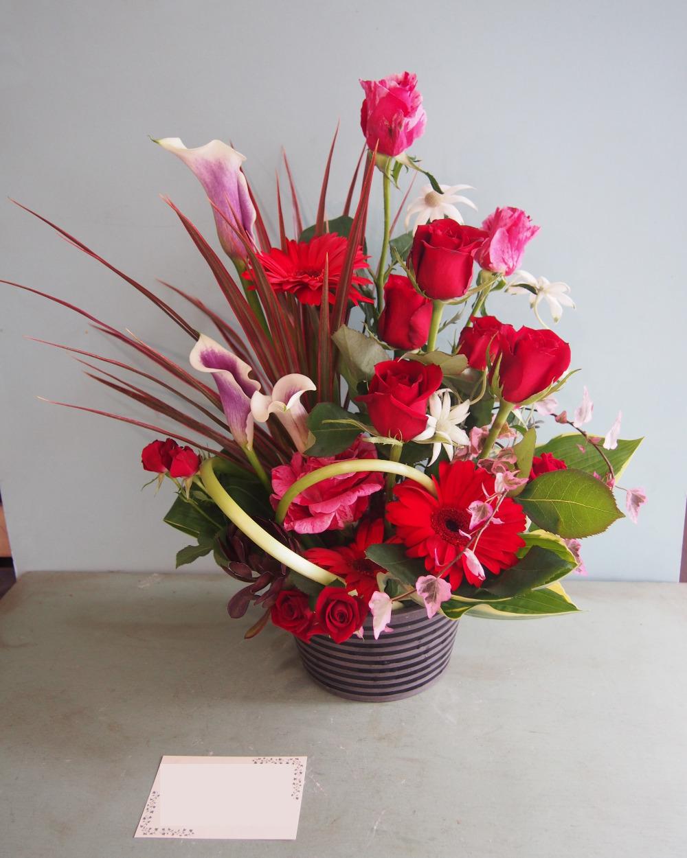 「会えなくても想いを伝えたい」還暦祝い花