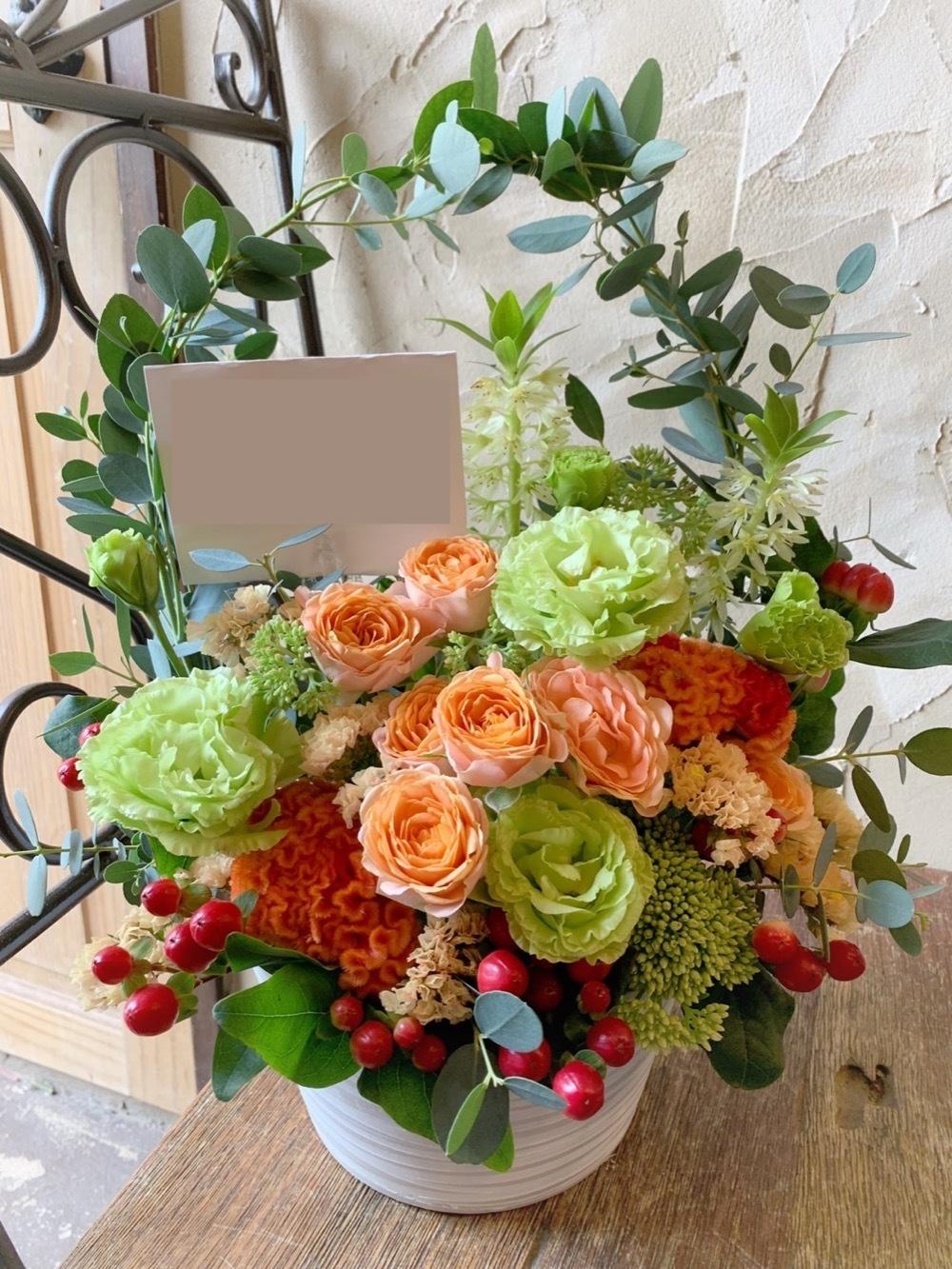 「新たな門出をお祝いしたい」美容室さま開店祝い花