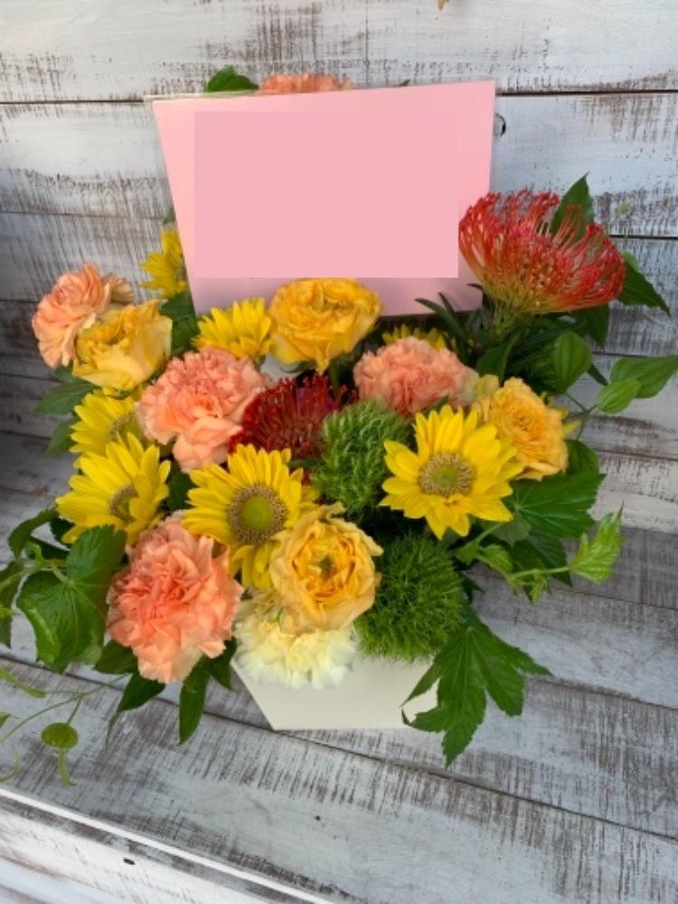 あたたかい気持ちが込められた飲食店の開店祝い花