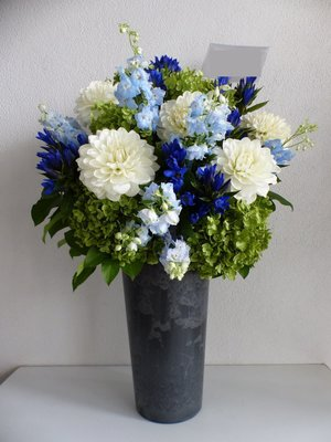法人様の移転祝い花