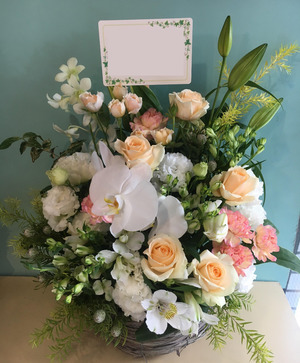 昇進・昇格祝いの上品な祝い花