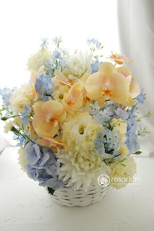 3位:優しくて上品なご就任祝い花