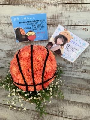 日向坂46メンバー様への握手会祝い花