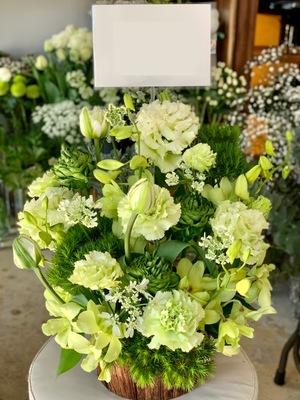 ご友人様のヘアサロン様開店祝い花
