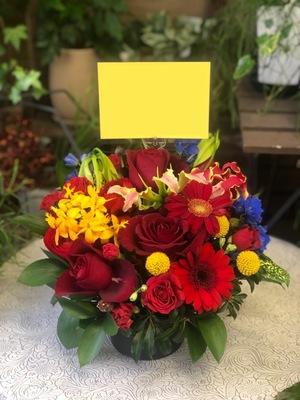 新たなオフィスで更なる飛躍を ご移転祝い花