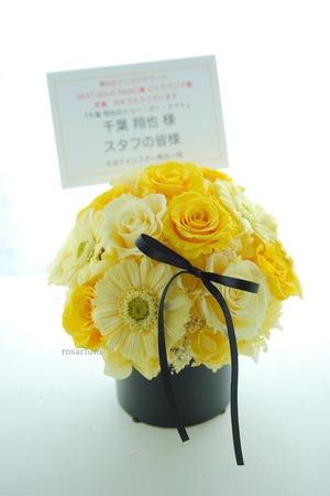 応援している声優さんに贈ったお花たち