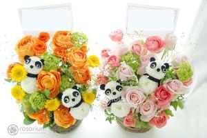 パンダが可愛い祝い花