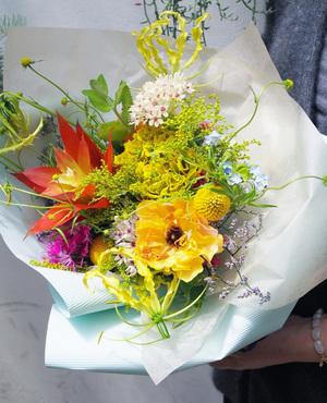 昇進・昇格祝いにも似合う花束