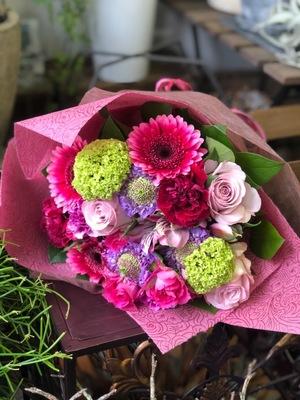 「元気に、豊かになってほしい」母の日祝い花