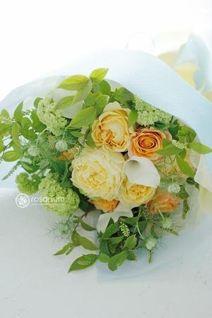 気持ちの明るくなる母の日のアレンジ花