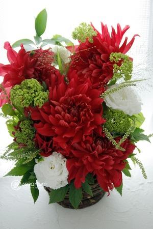 「和風で華やかに」お母さまのお誕生日&母の日祝い花