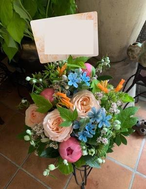 「応援しているお店に想いを届けたい」飲食店様の周年祝い花