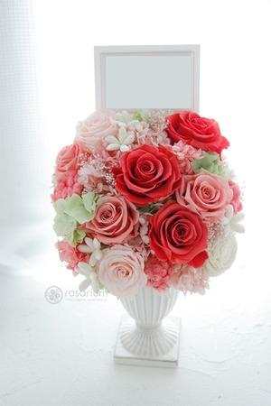 「優しくふんわりしたイメージで」サロン様ご開店祝い花