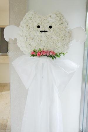 開店祝い・移転祝いにもおすすめ キャラクターモチーフがかわいいスタンド花