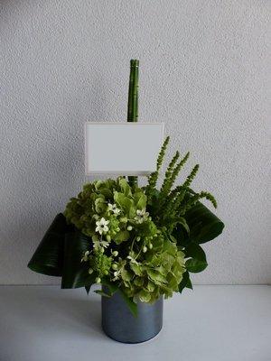 「お店で働く皆さんの顔を思い浮かべて」和食店様周年祝い花