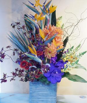 「イケてるしヤバい」奇抜な会社さまへの就任祝い花|