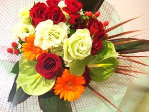 開業祝い・開院祝いにもびったりな元気な祝い花