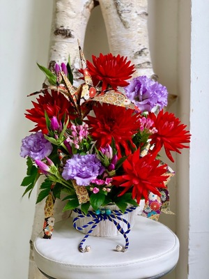 TOKYO FMホール 公演 [朗読で描く日本の古典シリーズ「源氏物語~奥ゆかしき恋の果て~」] 中澤まさとも様 ご出演祝い花