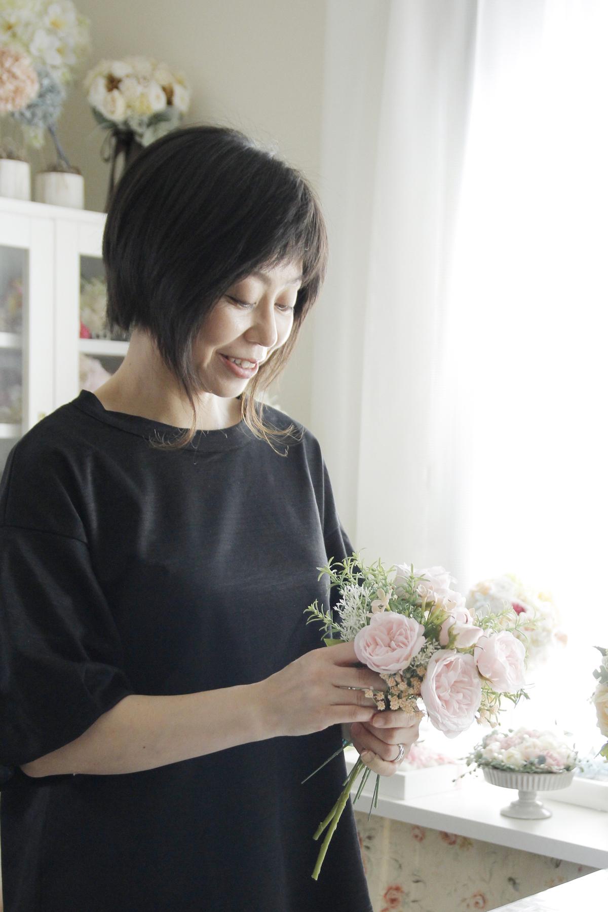 Sakaseruフラワーデザイナー宮崎恵美子