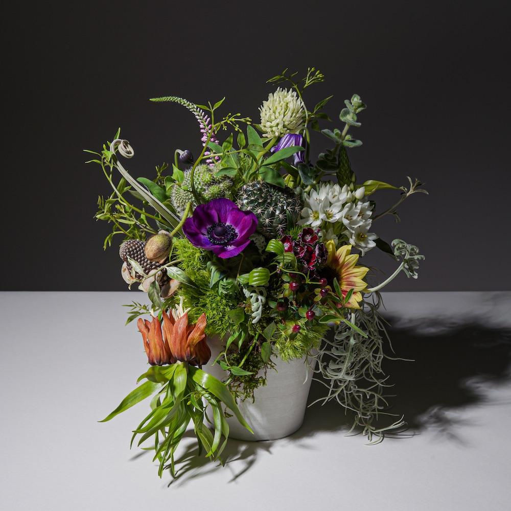スタイリッシュな祝い花
