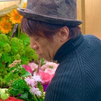 恵比寿ザ・ガーデンホール 公演 [月ノ美兎アーティスト生活向上委員会] 月ノ美月さま ご出演スタンド花